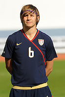 Amy LePeilbet. The USWNT defeated Iceland (2-0) at Vila Real Sto. Antonio in their opener of the 2010 Algarve Cup on February 24, 2010.