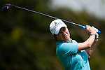 CHON BURI, THAILAND - FEBRUARY 18:  Catriona Matthew of Scotland tees off on the 3rd hole during day two of the LPGA Thailand at Siam Country Club on February 18, 2011 in Chon Buri, Thailand.  Photo by Victor Fraile / The Power of Sport Images