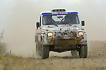 Mercedes G Wagon racing at the Rallye Dresden Breslau 2007. --- No releases available. Automotive trademarks are the property of the trademark holder, authorization may be needed for some uses.