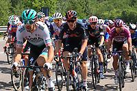 27th May 2021; Rovereto, Trentino, Italy; Giro D Italia Cycling, Stage 18 Rovereto to Stradella; left, 74 BODNAR Maciej POL and right Peter Sagan (SVK) Bora-Hansgrohe