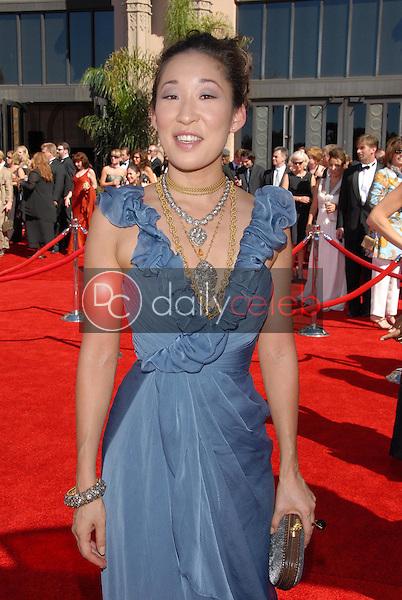 Sandra Oh<br />arriving at the 58th Annual Primetime Emmy Awards. The Shrine Auditorium, Los Angeles, CA. 08-27-06<br />Scott Kirkland/DailyCeleb.com 818-249-4998