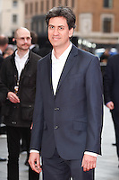 """Ed Milliband<br /> arrives for the """"Florence Foster Jenkins"""" European premiere at the Odeon Leicester Square, London<br /> <br /> <br /> ©Ash Knotek  D3106 12/04/2016"""