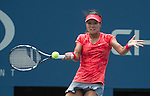 Na Li (CHN) defeats Sofia Arvidsson, (SWE) 6-2, 6-2 at the US Open being played at USTA Billie Jean King National Tennis Center in Flushing, NY on August 28, 2013