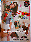 """""""Seventeen Magazine"""" Full Page Advertisement for """"Make me Chic"""" Boutique 
