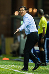 Coach Kim Pan Gon of Hong Kong during the International Friendly match between Hong Kong and Jordan at Mongkok Stadium on June 7, 2017 in Hong Kong, China. Photo by Marcio Rodrigo Machado / Power Sport Images