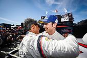 #6 Acura Team Penske Acura DPi, DPi: Juan Pablo Montoya, Dane Cameron, podium, victory lane