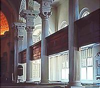 Charleston:  St. Philip's Interior.  Photo '78.