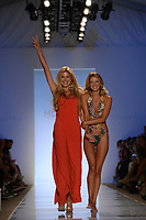 MIAMI BEACH, FL - JULY 21: A model walks the runway at the Liliana Montoya Swim show during Mercedes-Benz Fashion Week Swim 2015 The Raleigh on July 21, 2014 in Miami Beach, Florida<br />