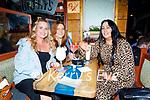 Enjoying the evening in Sean Og's on Thursday, l to r: Rachel Kerins, Pamela Ryle and Orla Stafford.