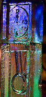 Detail photograph of an ice sculpture during the First Night Charlotte 2009 celebration in Uptown Charlotte, NC. First Night Charlotte is the most exciting, imaginative, uplifting cultural event of the year featuring an alcohol-free activities for the entire family.