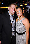 Ray Falcon and Rachel Castillo at the second annual Texas Children's Cancer Center Casino Night Cruise in Kemah Friday Oct. 08, 2010. (Dave Rossman/For the Chronicle)