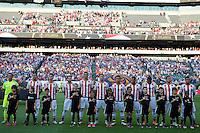 Action photo during the match USA vs Paraguay at Lincoln Financial Field, Copa America Centenario 2016. ---Foto  de accion durante el partido USA vs Paraguay, En el Lincoln Financial Field, Partido Correspondiante al Grupo - D -  de la Copa America Centenario USA 2016, en la foto: Paraguay starting eleven vs USA