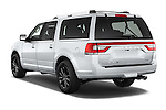 Car pictures of rear three quarter view of2015 Lincoln Navigator Select 5 Door SUV Angular Rear