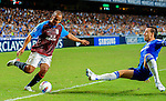 Gabriel Agbonlahor of Aston Villa in action during the Asia Trophy Final match aganist Chelsea at the Hong Kong Stadium on July 30, 2011 in So Kon Po, Hong Kong. Photo by Victor Fraile / The Power of Sport Images