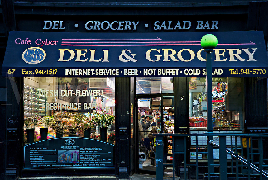 SoHo deli and grocery store, NYC