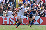 Scotland vs USA on Day 3 of the 2012 Cathay Pacific / HSBC Hong Kong Sevens at the Hong Kong Stadium in Hong Kong, China on 25th March 2012. Photo © Victor Fraile  / The Power of Sport Images