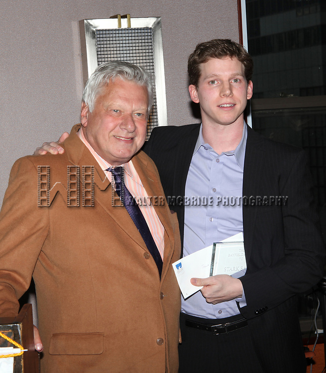Stark Sands attending the 2008 St. Clair Bayfield Award presented by the Actor's Equity Foundation at the Actor's Equity offices in New York City.<br />January 9, 2009