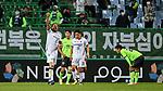 Jeonbuk Hyundai Motors FC (KOR) vs Ulsan Hyundai FC (KOR) during their AFC Champions League 2021 Quarter Final match at Jeonju World Cup Stadium on October 17, 2021 in Jeonju, Korea Republic. Photo by Seong Joon Cho / Power Sport Images for The AFC