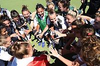 Juventus players.  Celebration at the end of the match <br /> Verona 20-4-2019 Stadio AGSM Olivieri <br /> Football Women Serie A Hellas Verona - Juventus <br /> Juventus win italian championship <br /> Photo Daniele Buffa / Image Sport / Insidefoto