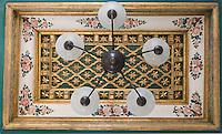 Asie/Israël/Judée/Jérusalem: Hotel American Colony détail du plafond d'un salon