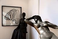 Exhibition 'Rinascita' of the urban artist Sten Lex at the modern art gallery of Rome.<br /> Rome (Italy), September 17th 2020<br /> Photo Samantha Zucchi Insidefoto