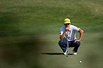 Rafael Cabrera Bello of Spain ponders his next move during the 58th UBS Hong Kong Golf Open as part of the European Tour on 11 December 2016, at the Hong Kong Golf Club, Fanling, Hong Kong, China. Photo by Marcio Rodrigo Machado / Power Sport Images
