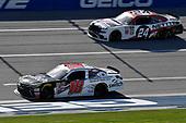 #18: Noah Gragson, Joe Gibbs Racing, Toyota Camry Switch and #24: Kaz Grala, JGL Racing, Ford Mustang NETTTS