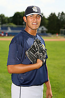 June 21st 2008:  Pitcher Wilfredo Ramirez of the Mahoning Valley Scrappers, Class-A affiliate of the Cleveland Indians, during a game at Dwyer Stadium in Batavia, NY.  Photo by:  Mike Janes/Four Seam Images