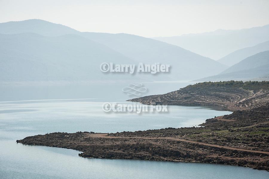 Lake Bileca (Bilecko jezero) near Belica, Boania and Herzegovina