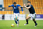 St Johnstone v Dundee…02.10.21  McDiarmid Park.    SPFL<br />Michael O'Haloran and Ryan Sweeney<br />Picture by Graeme Hart.<br />Copyright Perthshire Picture Agency<br />Tel: 01738 623350  Mobile: 07990 594431