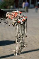 Houmt Souk, Verkauf von Silberschmuck, Djerba, Tunesien
