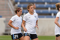 Chicago, IL - Sunday Sept. 04, 2016: Sofia Huerta prior to a regular season National Women's Soccer League (NWSL) match between the Chicago Red Stars and Seattle Reign FC at Toyota Park.