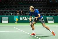 Rotterdam, The Netherlands, Februari 9, 2016,  ABNAMROWTT, Thiemo de Bakker (NED) <br /> Photo: Tennisimages/Henk Koster