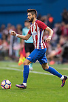 Yannick Ferreira Carrasco of Atletico de Madrid in action during their La Liga match between Atletico de Madrid and Granada CF at the Vicente Calderon Stadium on 15 October 2016 in Madrid, Spain. Photo by Diego Gonzalez Souto / Power Sport Images