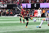 Atlanta, Georgia - Saturday, June 30, 2018. Atlanta United defeated Orlando City SC, 4-0, in front of a crowd of 71,932 at Mercedes-Benz Stadium, the largest attendance of any soccer match in the world played that day, including two World Cup Round of 16 matches in Russia.