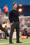 Coach Enrique Sanchez Flores of RCD Espanyol looks on during the La Liga match between Atletico de Madrid and RCD Espanyol at the Vicente Calderón Stadium on 03 November 2016 in Madrid, Spain. Photo by Diego Gonzalez Souto / Power Sport Images