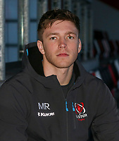 Monday 30th December 2019 | Ulster Rugby Match Briefing<br /> <br /> Ulster Rugby back row Matty Rea at the Match Briefing held at Kingspan Stadium, Belfast ahead of the PRO14 Round 10 inter-pro clash against Munster at Kingspan Stadium, on Friday 3rd January 2020. Photo by John Dickson / DICKSONDIGITAL