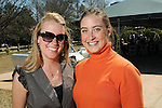 Arabella di Bagno and Kendall Owens at the Beastly Brunch at the Houston Zoo Sunday Feb. 28,2010. (Dave Rossman Photo)