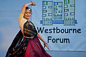Indian dance performance at Westbourne Neighbourhood Forum International Day at the Stowe