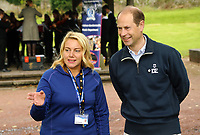 HRH Prince Edward, The Earl of Wessex has visited the National Botanic Gardens of Wales in Llanarthney, Carmarthenshire, for the Duke of Edinburgh Awards. Thursday 21 September 2017