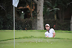 Feb 22, 2009: Rory Sabbatini in trouble at hole 6, finishes tied for 6th place at the Northern Trust Open 2009 in the Pacific Palisades, California.