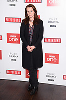 """Emily Watson<br /> arriving for the """"Little Women"""" screening at the Soho Hotel, London<br /> <br /> <br /> ©Ash Knotek  D3360  11/12/2017"""