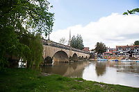 BNPS.co.uk (01202) 558833.<br /> Pic: ZacharyCulpin/BNPS<br /> <br /> The picturesque market town of Wallingford in Oxfordshire<br /> <br /> Agatha Christie enthusiasts have launched a crowdfunding campaign to raise £2.75m to buy the writer's former home and turn it into a tourist attraction.<br /> <br /> The legendary author lived at Winterbrook House for 42 years until her death and did most of her writing there, including Death on the Nile which has a new film adaptation being released next year.<br /> <br /> Current owner Gregor Kleinknecht put the five-bedroom home on the market last month but is supporting the band of locals who want to create a tribute to the author.