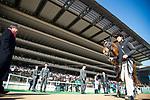 FUCHU,JAPAN-FEBRUARY 18: Sumahama,ridden by Yusuke Fujioka, after winning the Hyacinth Stakes at Tokyo Racecourse on February 18,2018 in Fuchu,Tokyo,Japan (Photo by Kaz Ishida/Eclipse Sportswire/Getty Images)