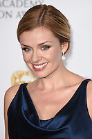 Katherine Jenkins<br /> in the winners room at the 2016 BAFTA TV Awards, Royal Festival Hall, London<br /> <br /> <br /> ©Ash Knotek  D3115 8/05/2016