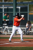 Matthew Sauve during the Under Armour All-America Tournament powered by Baseball Factory on January 19, 2020 at Sloan Park in Mesa, Arizona.  (Zachary Lucy/Four Seam Images)