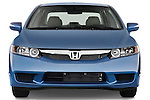 Straight front view of a 2009 Honda Civic Hybrid