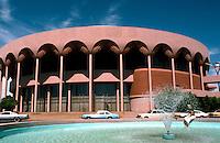 F.L. Wright: Auditorium, Tempe, AZ.  Photo '78.