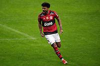 25th August 2021; Arena do Gremio, Porto Alegre, Brazil; Copa Do Brazil, Gremio versus Flamengo; Bruno Viana of Flamengo celebrates his goal in the 53rd minute for 0-1