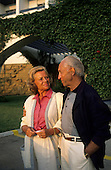 Portugal. Good-looking older European couple. Ruth and Alexander Jakober.